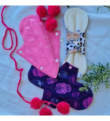 Toallitas menstruales intensas